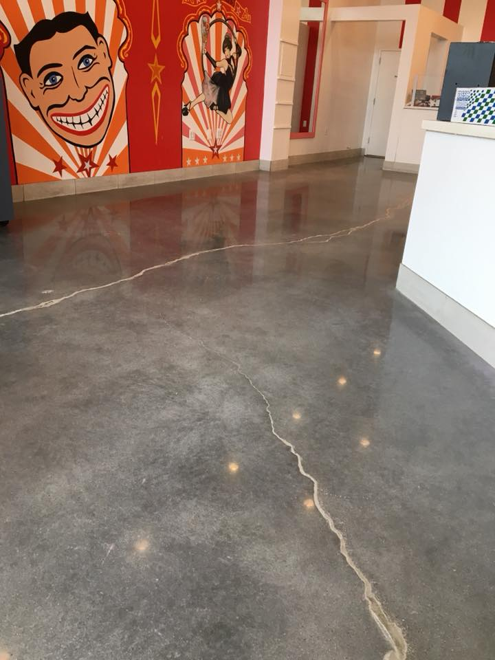 Floor cleaning refinishing manhattan new york new for Polished concrete maintenance